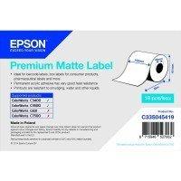 Рулонная бумага Epson Premium Matte Label TM-C3500 (C33S045419)