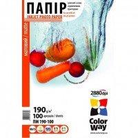 Бумага ColorWay 190г/м, ПМ190-100 (22197) (22197)