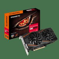 Відеокарта GIGABYTE Radeon RX 580 8GB DDR5 Gaming (GV-RX580GAMING-8GD)