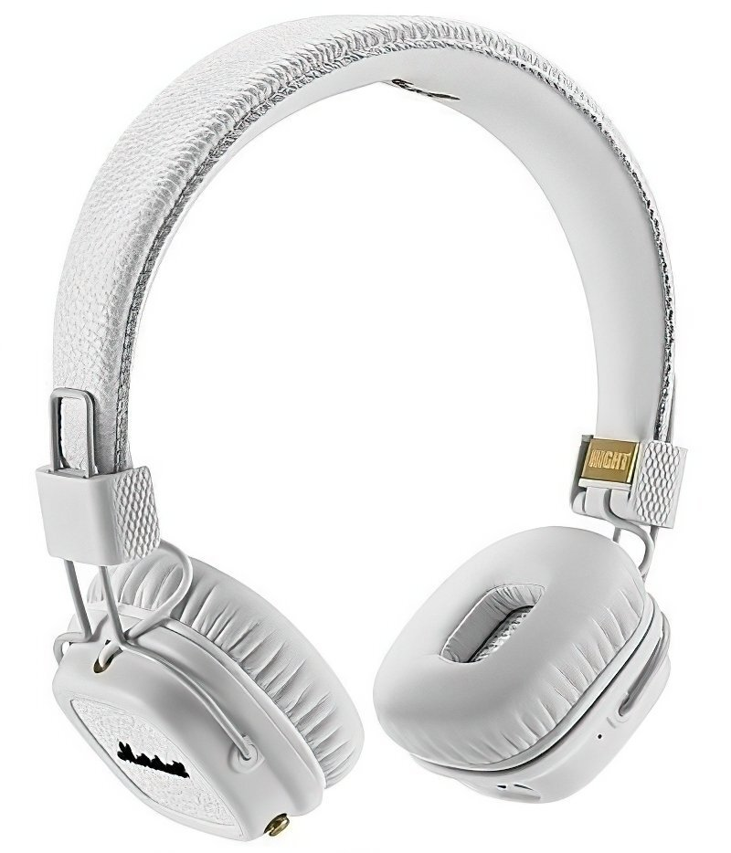 ≡ Наушники MARSHALL Major II Bluetooth White (4091377) – купить в ...
