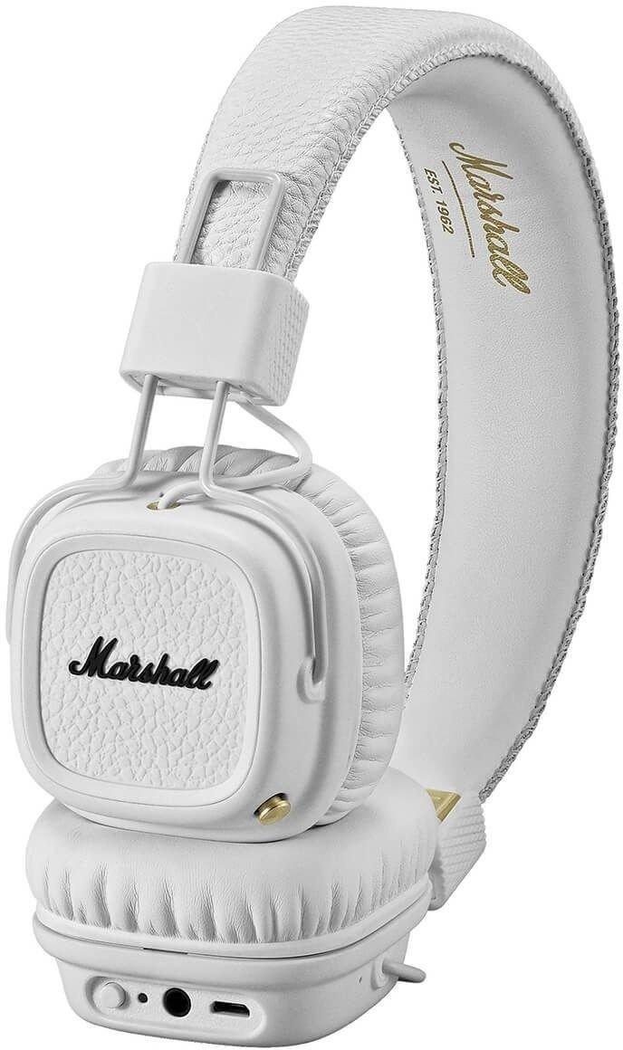 ≡ Навушники MARSHALL Major II Bluetooth White (4091377) – купити в ... 688cebd1a98d6