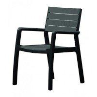 Стул Keter Harmony chair Graphite/Brown