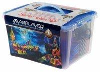Конструктор Magplayer магнитный набор 268 эл. MPT-268