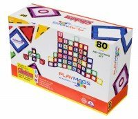 Конструктор Playmags магнитный набор 80 эл. PM170