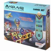 Конструктор Magplayer магнитный набор 72 эл. MPB-72