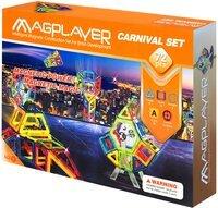 Конструктор Magplayer магнитный набор 72 эл. MPA-72