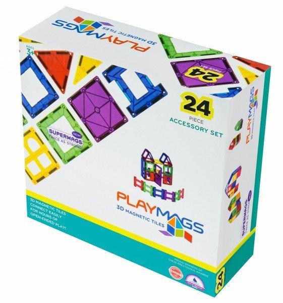 Купить Конструктор Playmags магнитный набор 24 эл. PM162