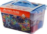Конструктор Magplayer магнитный набор 48 эл. MPT-48