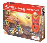 Конструктор Magplayer магнитный набор 40 эл. MPB-40