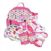 Раздвижные роликовые коньки Tempish Owl Baby skate (р.34-37) розовые (1000000006/34-37)