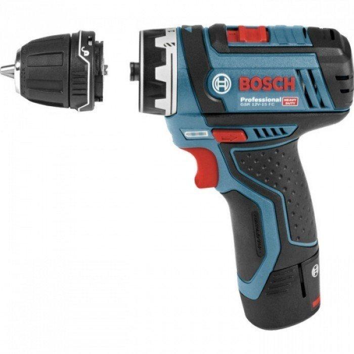 Багатофункціональний інструмент Bosch GSR 12V-15 FCфото1