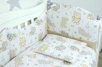 Комплект постельного белья VERES KIWI brown-beige 6 единиц (220.04)