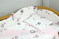 Комплект постельного белья VERES ELEPHANT pink 6 единиц (208.02)