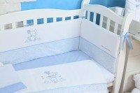 Комплект постельного белья VERES SWEET BEAR blue (7 ед) (146.02)