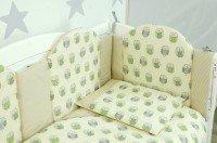 Комплект постельного белья VERES OWLS beige-green 6 единиц (220.06)