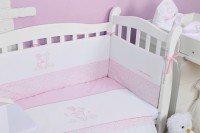 Комплект постельного белья VERES SWEET BEAR pink (7 ед) (147.02)