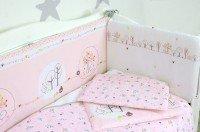 Комплект постельного белья VERES FOREST pink 6 единиц (220.10)