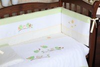 Комплект постельного белья VERES SPRING BIRDIES green 6 единиц (161.01)