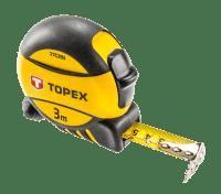 Рулетка измерительная Topex 3м (27C393)