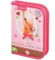 Пенал порожній Herlitz Standard Pretty Pets Horse (11360724H)