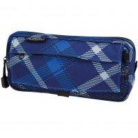 Пенал Herlitz Pockets Check Blue(11281706)
