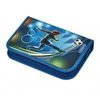 Пенал с наполнением 31 предмет Herlitz Soccer(50008391)