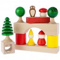 Конструктор деревянный Nic 17 деталей (NIC2115)