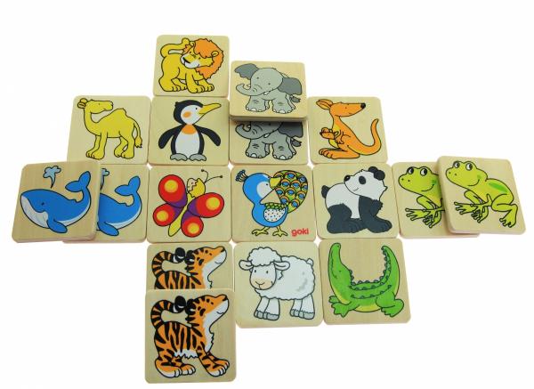 Купить Игра goki Жители зоопарка (56700)