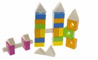 Конструктор деревянный goki Строительные блоки (58589)