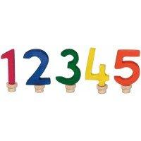 Аксессуар для подсвечника Nic Набор цифр для торта 1-5 (NIC522951)