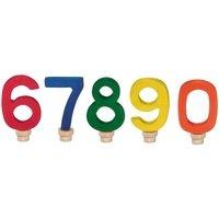 Аксессуар для подсвечника Nic Набор цифр для торта 0-0 (NIC522956)