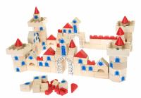 Конструктор деревянный goki Замок 145 деталей (58984)