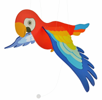 Мобайл деревянный goki Попугай (GK454)