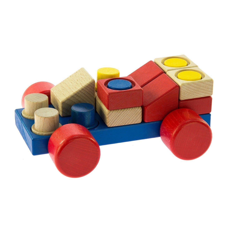конструктор деревянный Nic машинка Nic2141 купить в