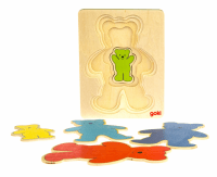 Головоломка goki Разноцветные мишки (57884)