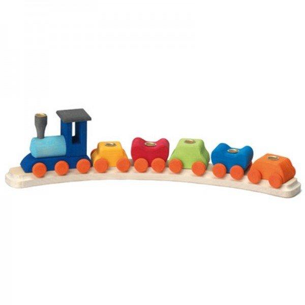 Подсвечник праздничный Nic деревянный Поезд полукруглый (NIC522830)