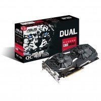 Видеокарта ASUS Radeon RX 580 4GB DDR5 Dual (DUAL-RX580-O4G)