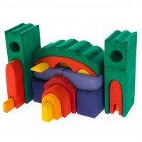 Конструктор дерев'яний Nic Все в замку зелений (NIC523269)