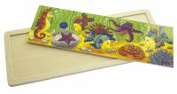 Пазл деревянный goki Подводная жизнь (57837)