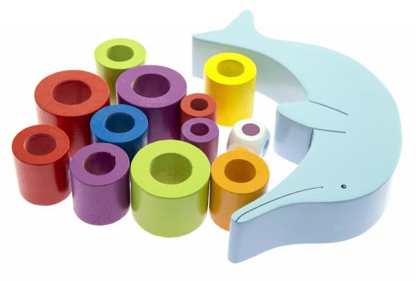 Купить Головоломка goki Балансируюий дельфин (56901)
