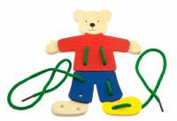 Шнуровка goki Медведь с одеждой (58929)