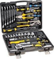 Набор инструментов Topex 38D224, 56 ед.