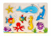 Пазл деревянный goki Подводный мир (57953)