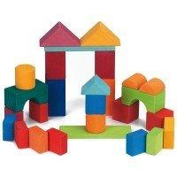 Конструктор деревянный Nic Цветной замок 27 деталей (NIC523292)
