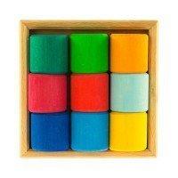 Конструктор деревянный Nic Разноцветный ролик (NIC523347)