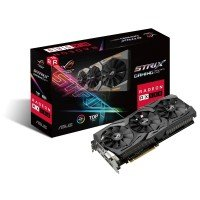 Видеокарта ASUS Radeon RX 580 8GB DDR5 Gaming Strix Top Edition (STRIX-RX580-T8G-GAMING)