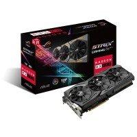 Відеокарта ASUS Radeon RX 580 8GB DDR5 Gaming Strix Top Edition (STRIX-RX580-T8G-GAMING)