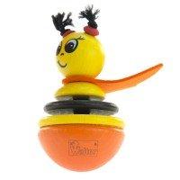 Игрушка-неваляшка деревянная Nic Пчелка (NIC61551)