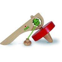 Игра деревянная Nic Юла красная (NIC1582)
