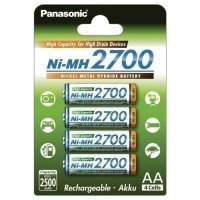 Аккумулятор Panasonic High Capacity AA 2700 mAh 4BP NI-MH